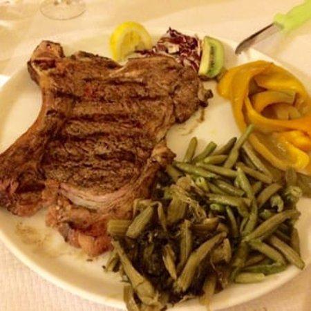 Bar Trattoria alla Prada: Carne ai ferri