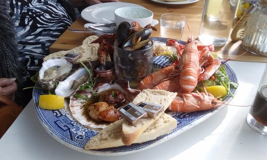Achiltibuie, UK: Seafood platter