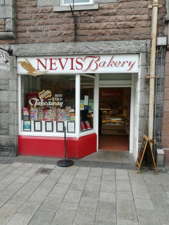 Nevis bakery shop and takeaway