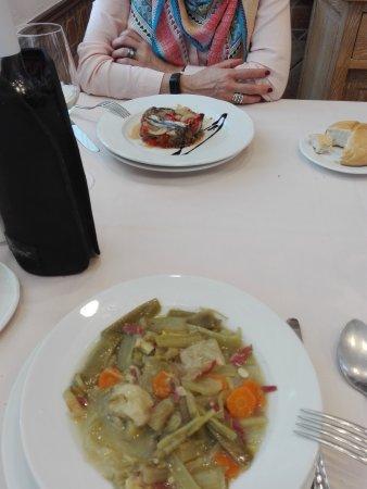 Ecay, Spain: Menú del día