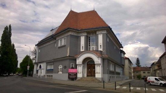 Hodonin, Republik Ceko: budova Galerie výtvarného umění v Hodoníně