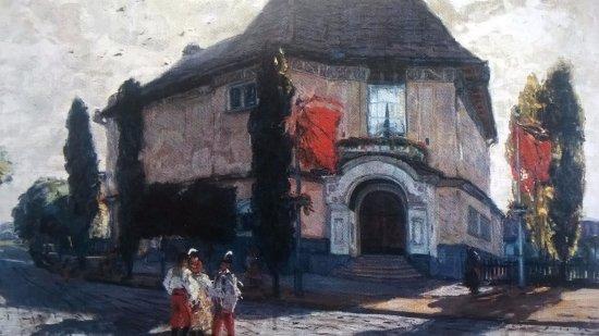 """Hodonin, Tsjekkia: ze sbírek: Martin Benka """"Dům umělců"""""""