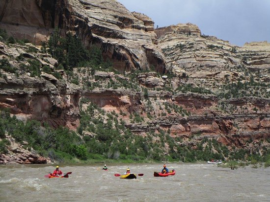 Vernal, UT: Ducky adventures on Yampa Canyon.