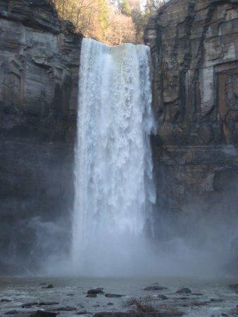 Trumansburg, NY: The falls.