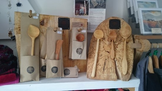 Achill Island, Ireland: Featuring Hewn hand carved spoons