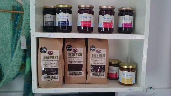 Achill Island, Ireland: Stocking Local Jam, Bean West Coffee, Achill Seasalt