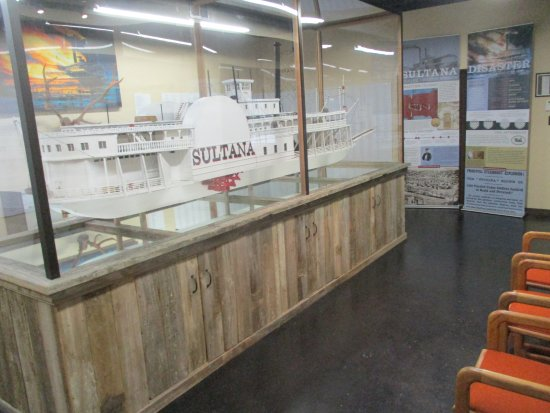 Sultana Disaster Museum : Exhibits