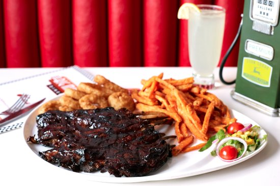Баркинг, UK: Big Moe's Full Rack of Lamb Ribs