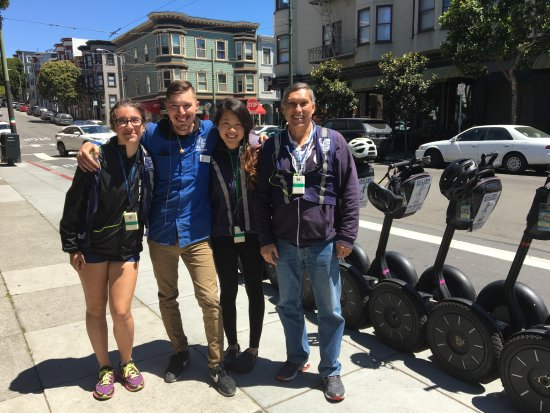 Electric Tour Company Segway Tours: With our guide DAN!