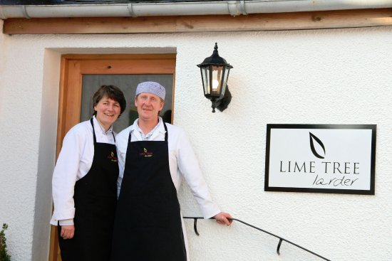 Kilbirnie, UK : Welcome to Lime Tree Larder