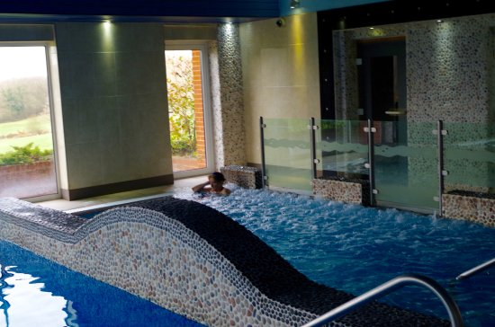 Tenterden, UK: Relaxing hydrotherapy pool