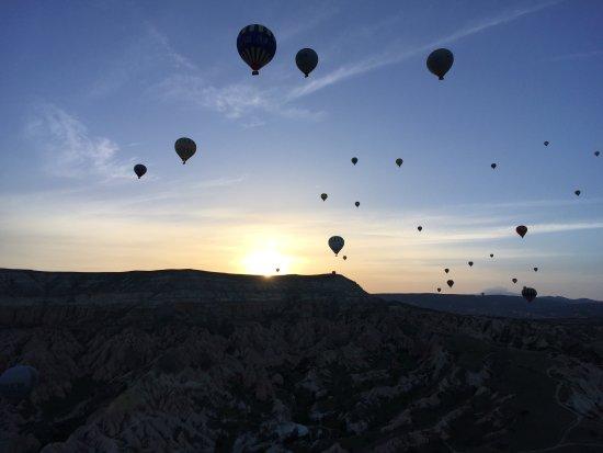 fire balloon - Picture of Urgup Balloons, Goreme - TripAdvisor