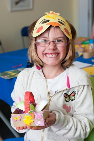 Littlehampton, UK: Enjoying Easter Craft at the Museum!