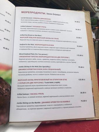Albura Kathisma: Очень хороший сервис !!! И вкуснейшая  еда  Osman подошёл ко мне с глубоким уважением и турецким