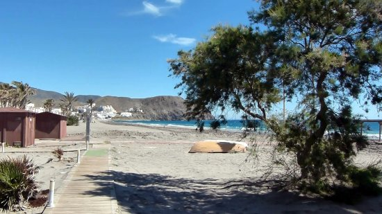 Carboneras, Spanien: Beach View
