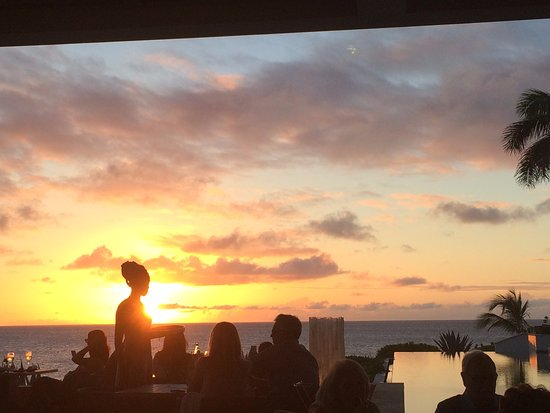 West End Village, Anguilla : View from the beautiful Sunset Lounge