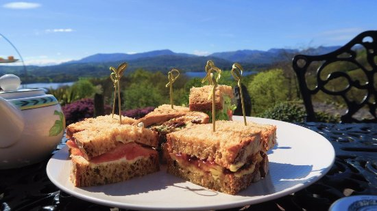 Holbeck Ghyll Country House: Tasty sandwiches