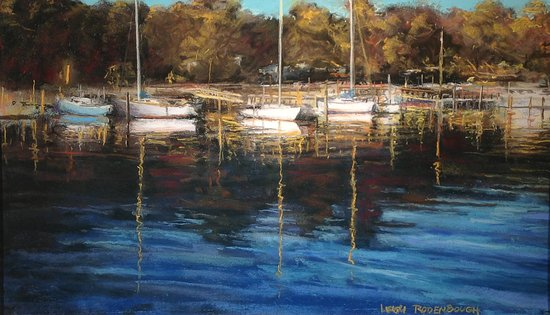 "Greensboro, NC: ""Waterfront, Southport"", NC by Leigh Rodenbough"