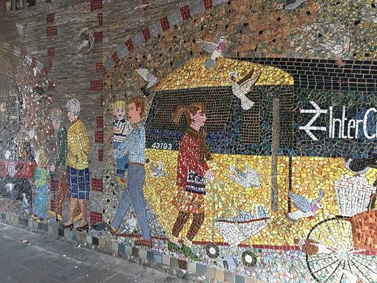 St Thomas' Pigeon Mosaic