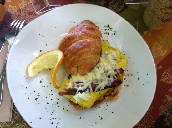 Flemington, NJ: Decadent Croissant...yum!!!