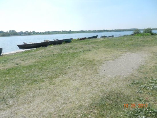 Hornsea Mere: Inland fresh water lake.