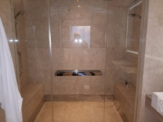 double shower picture of singapore marriott tang plaza hotel