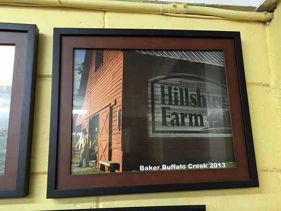 barn that hillshire farms uses for their commercial picture of