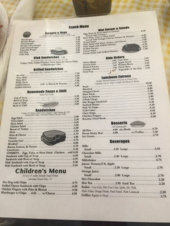 Kountry Kitchen Vero Beach Menu