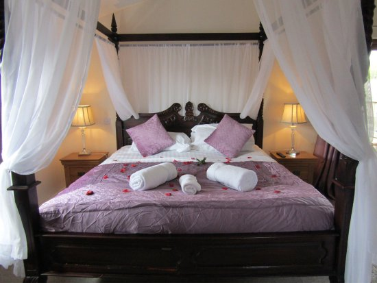 Yellowscott Country Park: Gorgeous Four Poster