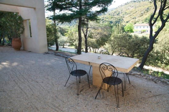 Vaugines, Francia: terrase privative appartement Elephanteau