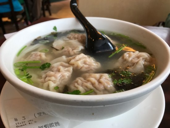 Northern Dumpling Kitchen Pork And Shrimp Wonton Soup Delicious