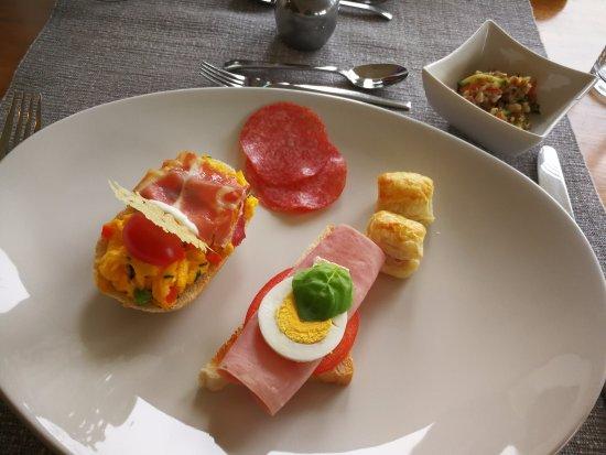 Verzej, سلوفينيا: Delicious breakfast!