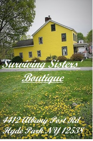 Spring at Surviving Sisters' Boutique, historic Hyde Park NY Check us out on Facebook