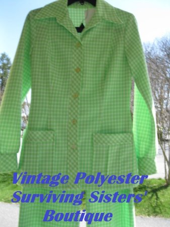 Hyde Park, NY: Fabulous Vintage Polyester exclusively at Surviving Sisters' Boutique!