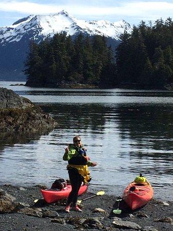 Sitka Sound Ocean Adventures: Taking a break.