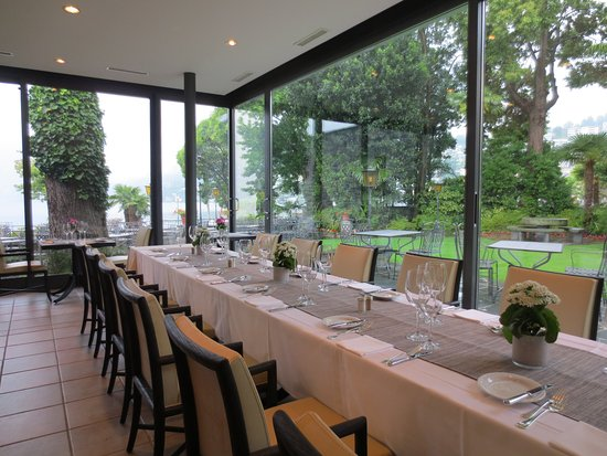 Ristorante Al Lago - Romantik Hotel Castello-Seeschloss: Battesimo