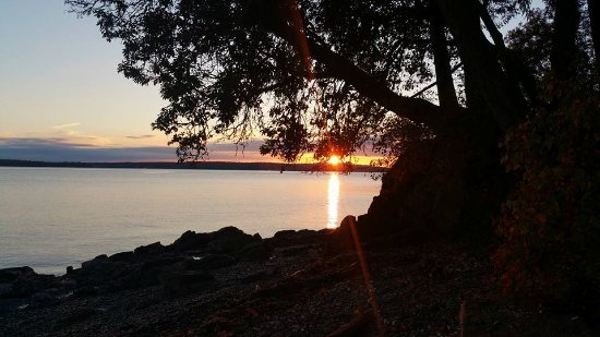 Chemainus, Canadá: Sunset at the Beach