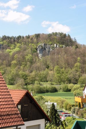 Heiligenstadt, Deutschland: Blick vom Balkon