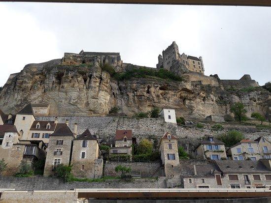 Beynac-et-Cazenac, ฝรั่งเศส: Beynac depuis la Gabarre