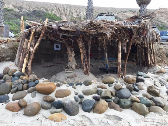 San Onofre, CA: Grom surf shack!