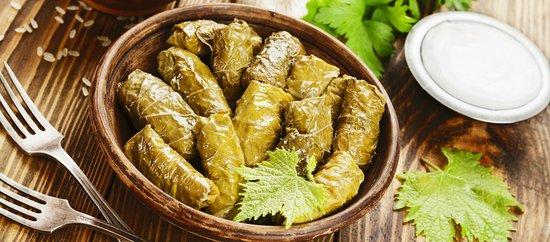 Kfardebian, Lebanon: Warak 3arich Dish