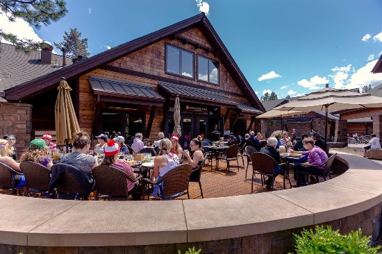 The deck at Sunriver Pub