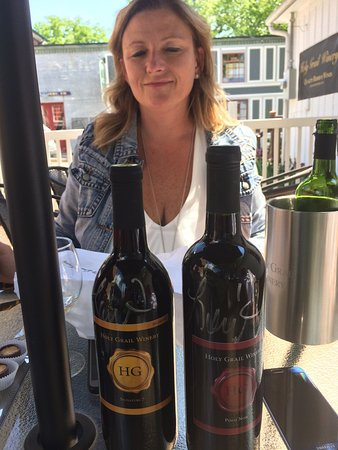 Augusta, MO: Mother's Day at Holy Grail Winery