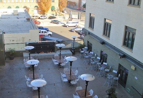 2nd-Floor Bar, Padre Hotel, Bakersfield
