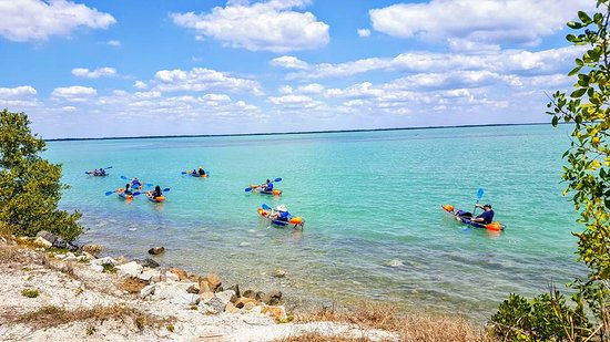 Placida, FL: The Beautiful waters of Boca Grande make for a perfect paddle!