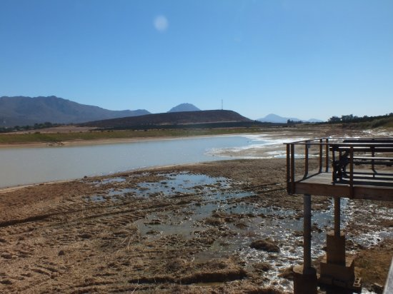 Citrusdal, Sydafrika: View of the dam