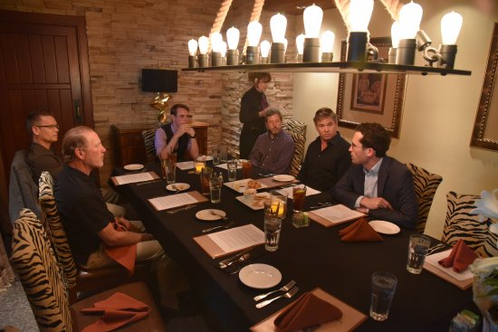 Brea, CA: Private dining room, seats about 20