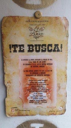 Yautepec, México: ¡¡¡TE BUSCA EL ZARKO!!!