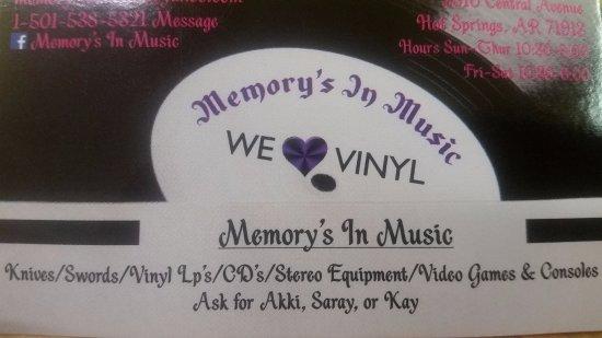 Memory's in Music