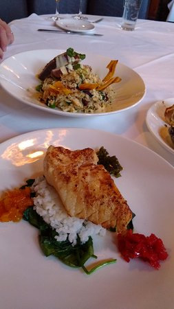 Brea, CA: Chilean Seabas, and.... I dont remember what else! Get the Seabass!